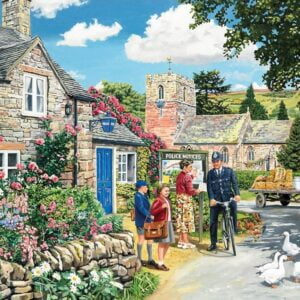 The English Village 3 - The Police House 500 XL Piece Puzzle - Holdson