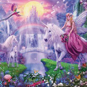Unicorn Kingdom 200 XL Piece Puzzle - Ravensburger
