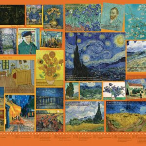 Van Gogh 1000 Piece Jigsaw Puzzle - Cobble Hill