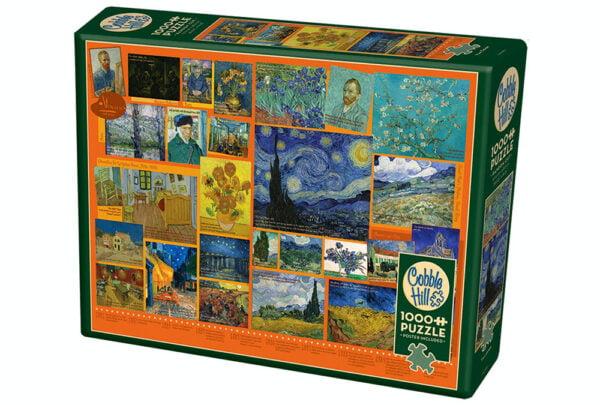 Van Gough 1000 Piece Puzzle - Cobble Hill