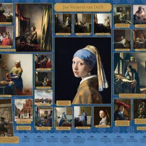 Vermeer 1000 Piece Puzzle - Cobble Hill