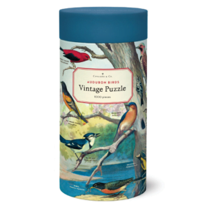 Vintage Puzzle - Audubon Birds 1000 Piece - Cavallini