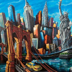 Welcome to New York 1000 Piece Puzzle - Ravensburger
