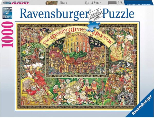 Windsor Wives 1000 Piece Puzzle - Ravensburger