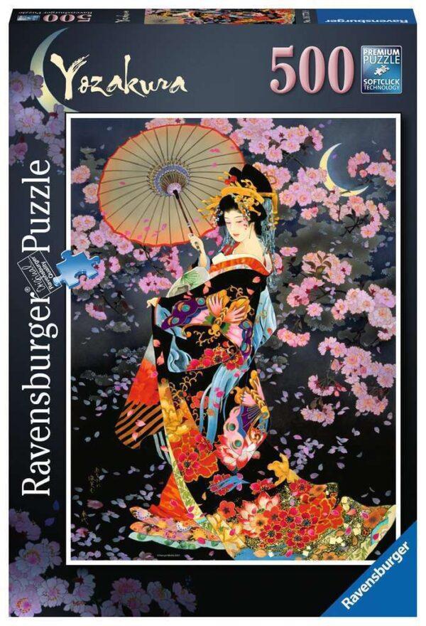 Yozakura 500 Piece Puzzle - Ravensburger