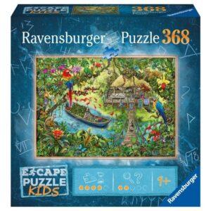 Escape Puzzle Kids - Jungle Journey 368 Piece - Ravensburger