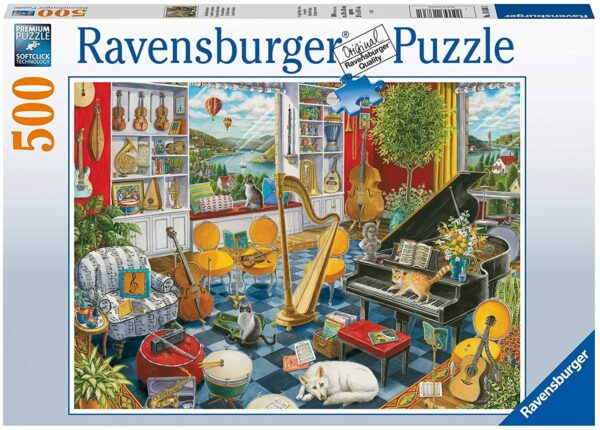 The Music Room 500 Piece Puzzle - Ravensburger