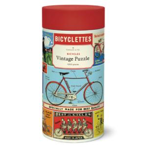 vintage Puzzle - Bicycles 1000 Piece - Cavallini & Co