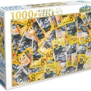 Australian $50 Note 1000 Piece Jigsaw Puzzle - Tilbury