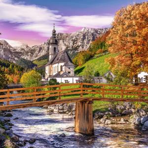 Autumn in Bavaria 1000 Piece Puzzle - Trefl