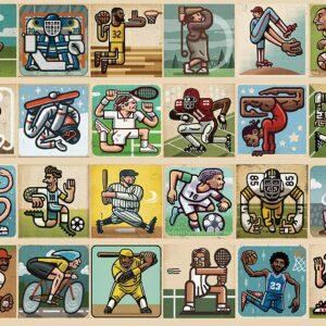 Awesome Athletes 300 Piece Puzzle - Ravensburger