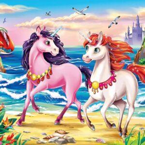 Beach Unicorns 35 Piece Puzzle - Ravensburger