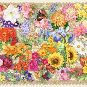 Blooming Beautiful 1000 Piece Puzzle - Ravensburger