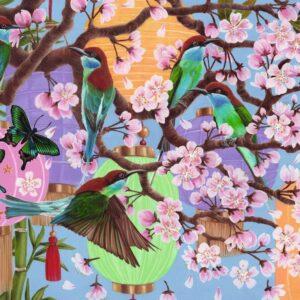 Cherry Blossom Time 1000 Piece Puzzle - Ravensburger