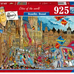 Cities of the World - Bruxelles - Brussel 925 Piece Puzzle - Ravensburger