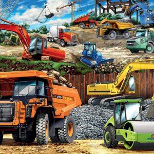 Construction Vehicles 100 Piece Puzzle - Ravensburger