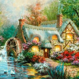 Country Retreat 1500 Piece Puzzle - Clementoni