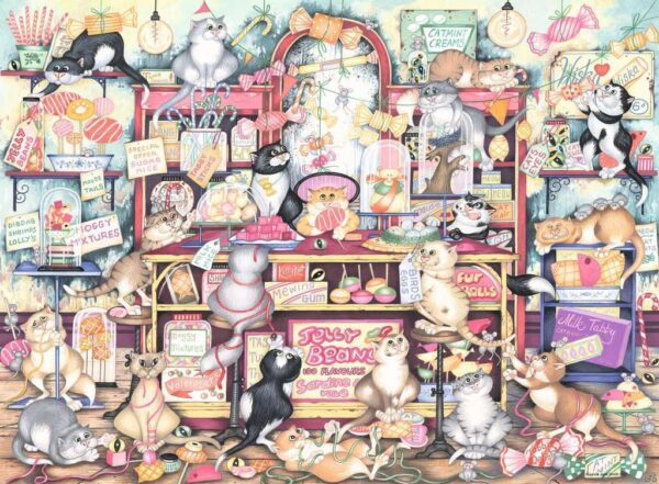 Crazy Cats, Mr Catkins Confectionery Puzzle - Ravensburger