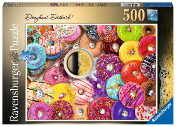 Doughnut Disturb 500 Piece Puzzle - Ravensburger