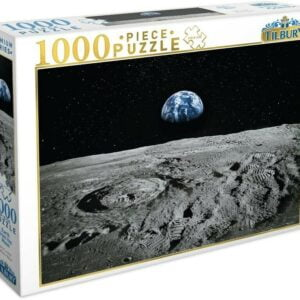 Earth From the Moon 1000 Piece Puzzle - Tilbury