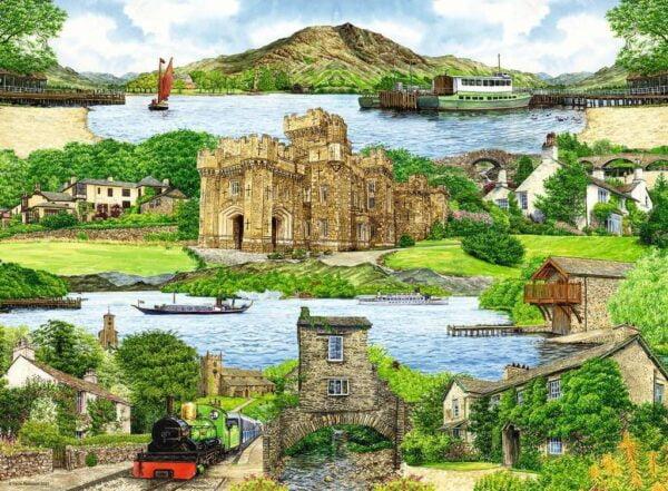 Escape to the Lake District 1000 Piece Puzzle - Ravensburger