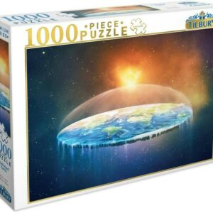 Flat Earth 1000 Piece Puzzle - Tilbury