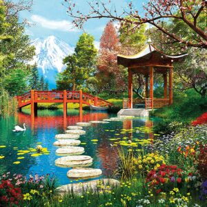 Fuji Garden 1000 Piece Puzzle - Clementoni
