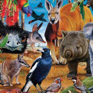 Garry Fleming - The Aussies 1000 Piece Puzzle
