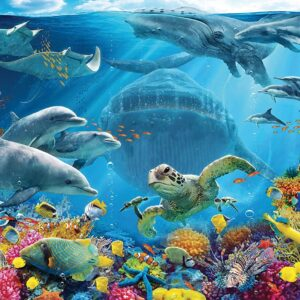 Life Underwater 300 Large Format Puzzle - Ravensburger