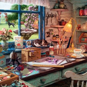 My Haven No 1 - The Craft Shed 1000 Piece Puzzle - Ravensburger