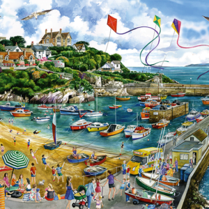 Newquay Harbour 1000 Piece Puzzle - Falcon de luxe
