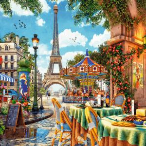 Parisian Morning 1000 Piece Puzzle - Trefl