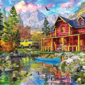 Picture Perfect 7 - Mountain Retreat 1000 Piece Puzzle - Holdson