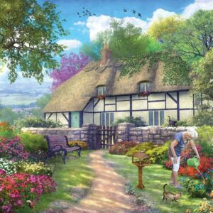 Picture Perfect 7 - Old Lane Cottage 1000 Piece Puzzle - Holdson