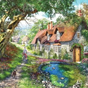 Picture Perfect 7 - The Flower Hill Cottage 1000 Piece Puzzle - Holdson