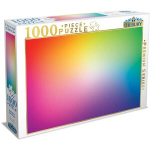 Rainbow Spectrum 1000 Piece Puzzle - Tilbury