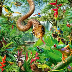 Reptile Resort 300 Piece Puzzle - Ravensburger