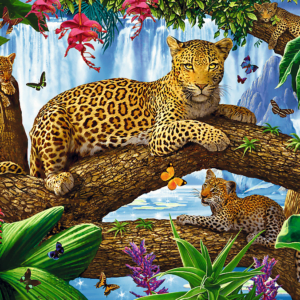 Resting Among The Trees 1500 Piece Puzzle - Trefl