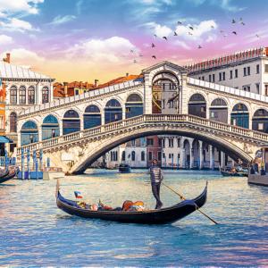 Rialto Bridge Venice 500 Piece Puzzle - Trefl