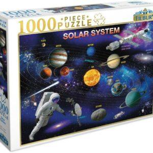 Solar System 1000 Piece Jigsaw Puzzle - Tilbury