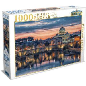 St Peter's Basilica Rome 1000 Piece Puzzle - Tilbury