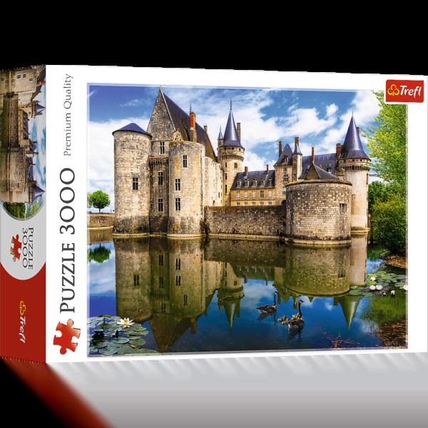 Sully-Sur-Loire Castle France 3000 Piece Puzzle - Trefl