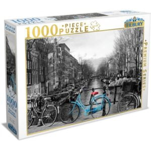 The Canal, Amsterdam 1000 Piece Puzzle - Tilbury