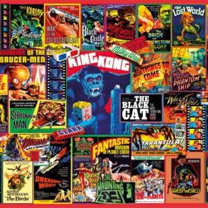 Thriller Classics 1000 Piece Puzzle - Clementoni