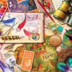 Treats N Treasures 3 - Vintage Birdwatcher 1000 Piece Puzzle - Holdson