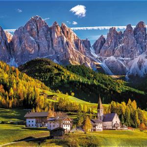 Val Di Funes Italy 1500 Piece Puzzle - Trefl