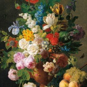 Van Dael - Bowl of Flowers 1000 Piece Puzzle - Clementoni