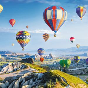 View of Cappadocia 1000 Piece Puzzle - Trefl