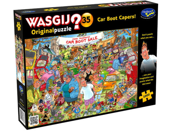 Wasgij 35 - Car Boot Capers 1000 Piece Jigsaw Puzzle - Holdson