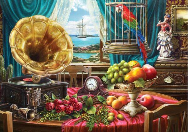 Window Wonderland - Squawks & Sails 1000 Piece Puzzle - Holdson